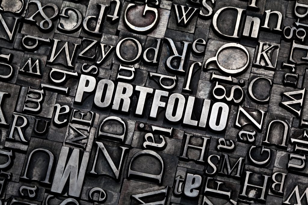 portfolio life typeset